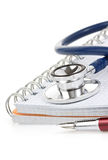 Medical Stethoscope And Notebook Stock Photos