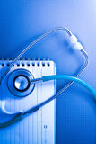 Medical stethoscope concept. Stock Images