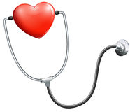 A medical stethoscope Stock Photography