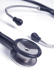 Medical stethoscope isolated close up Royalty Free Stock Photo