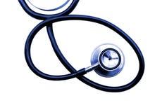 Medical stethoscope isolated on white background. Royalty Free Stock Image