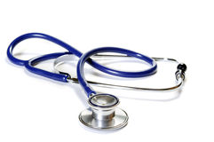 Medical stethoscope or phonendoscope Royalty Free Stock Photo