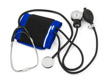 Medical stethoscope set Stock Image