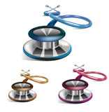 Medical stethoscopes Royalty Free Stock Photos