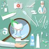 Medical stomatology dental design concept treatment teeth health Stock Photo