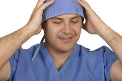 Medical stress Royalty Free Stock Image