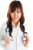 Medical student. Royalty Free Stock Photo