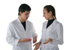 Medical students Royalty Free Stock Image