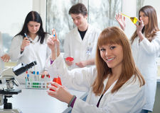 Medical students Royalty Free Stock Photography