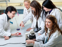 Medical students Stock Photo