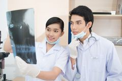 Medical students Stock Images