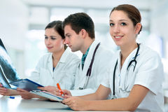 Medical Students Stock Image