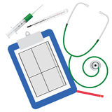 Medical stuff for inspection. Royalty Free Stock Photo