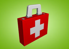 Medical suitcase royalty free stock photography
