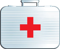 Medical suitcase Stock Image