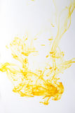 Medical supplies,Abstract background. Iodine and water texture background. Abstract yellow swirling. Medical supplies royalty free stock image