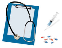 Medical supplies. Stock Photos