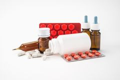 Medical supplies Royalty Free Stock Images