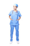 Medical surgeon doctor woman Royalty Free Stock Photography