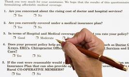 Medical Survey Stock Photo