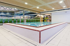 Medical swimming pool for rehab Stock Image