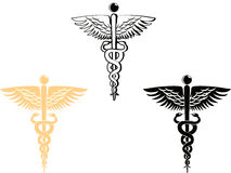 Medical symbol. 3 different style of medical symbol Royalty Free Stock Photo