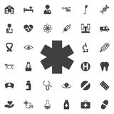 Medical symbol of the Emergency Royalty Free Stock Photography