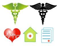 Medical symbols Royalty Free Stock Photography