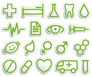 Medical symbols Royalty Free Stock Images