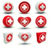 Medical symbols Royalty Free Stock Photos