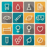 Medical symbols Stock Photo
