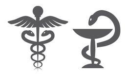 Medical symbols. On white background Stock Photo