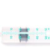 Medical syringe isolated on white Stock Photo