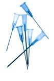 Medical syringe needle Royalty Free Stock Image