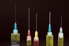 Medical Syringes Royalty Free Stock Photo