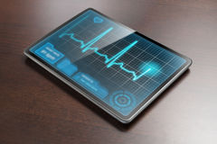 Medical tablet Royalty Free Stock Photography
