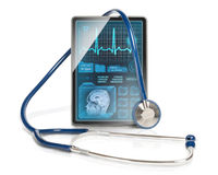 Medical tablet Royalty Free Stock Images