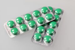 Medical tablets Stock Images