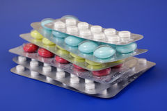 Medical Tablets Stock Image