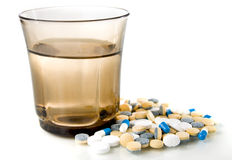 Medical tablets Stock Photography