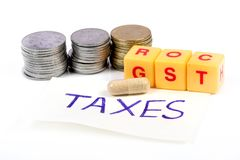 Medical taxes Royalty Free Stock Photos