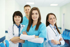 Medical team. Healthcare collection: successful medical team Royalty Free Stock Images