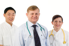 Medical team. Royalty Free Stock Photography