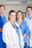 Medical team. Young medical team portrait together Stock Photo