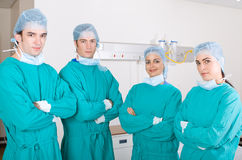 Medical team. Team of young medical professionals Royalty Free Stock Images