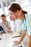 Medical Team At Work Stock Photography