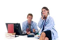 Medical team, cardiologist Stock Image