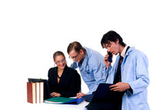 Medical team, cardiologist Stock Image