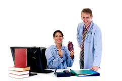 Medical team, cardiologist Stock Photos