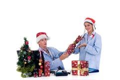 Medical team, Chrismas Stock Photos